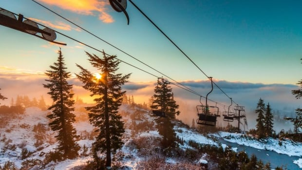 B.C.'s North Shore mountains, including Mt. Seymour seen here, recently received their first dusting of snow for the ski season.