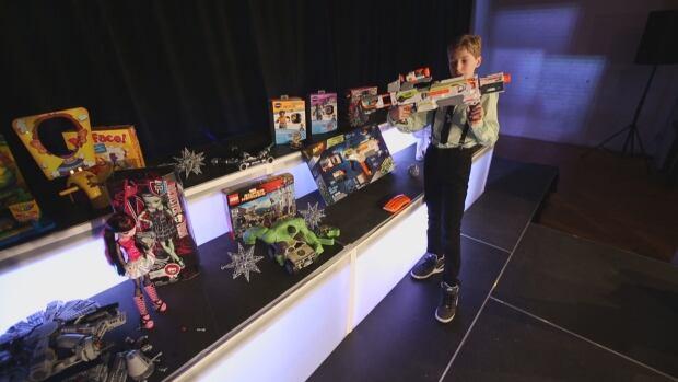 Alex Thorne Toy tester
