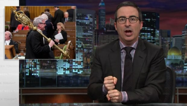 Did John Oliver Mistake Canada 39 S House Of Commons For The