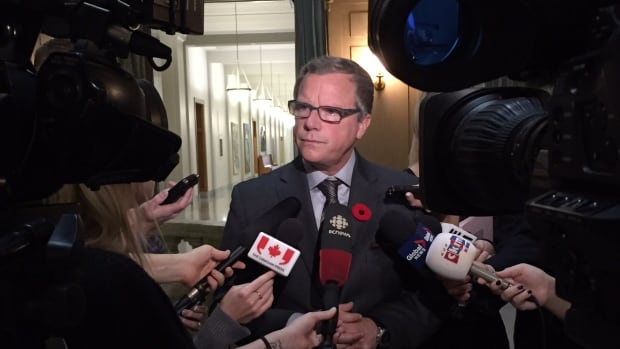 Saskatchewan's premier, Brad Wall, said further delays to Keystone XL underscore the need for a pipeline to carry oil east through Canada.