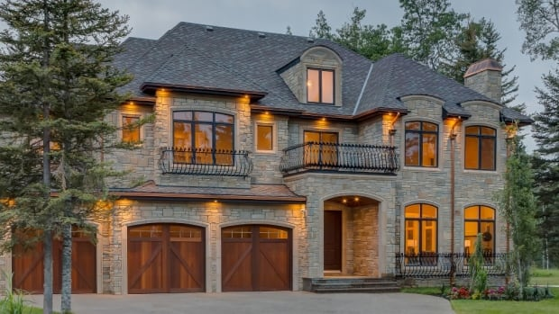 This five-bedroom, five-bathroom luxury home in Priddis, Alta., was listed at nearly $4 million but sold for just over $1.7 million.