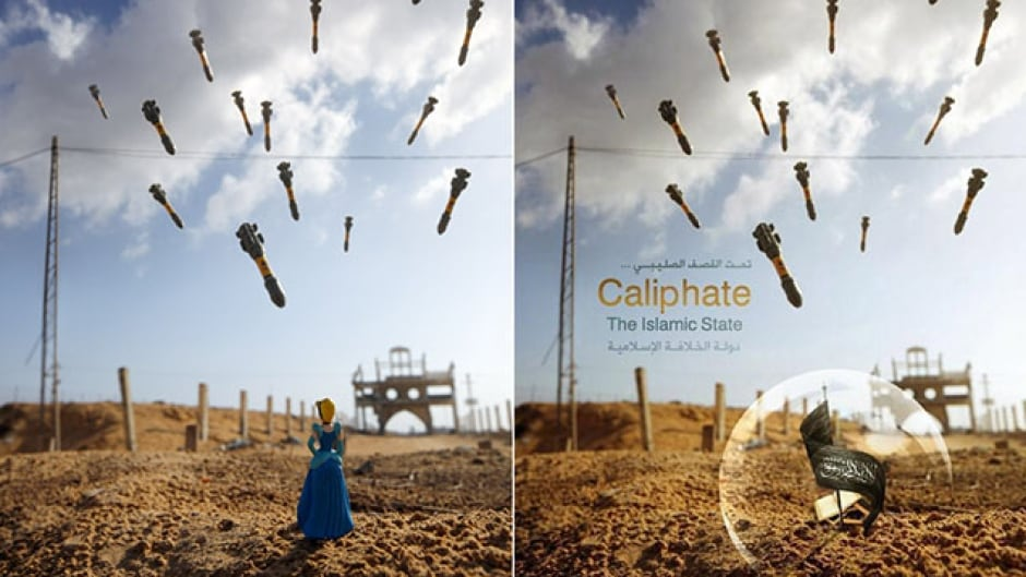 Photographer Brian McCarty recently learned that his artwork had been co-opted by ISIS. Of all the photos they could have chosen, he says this one was particularly painful.