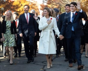 Liberal Cabinet Catherine McKenna Ottawa Justin Trudeau