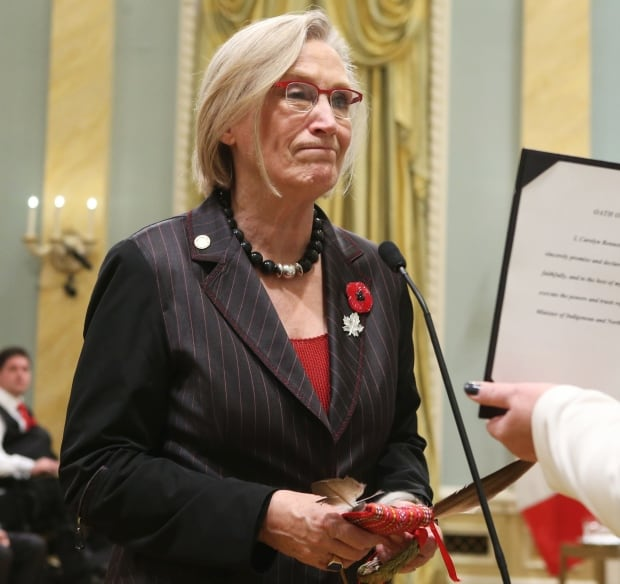 Ontario LIB MP Carolyn Bennett Indigenous and Northern Affairs minister Nov 4 2015