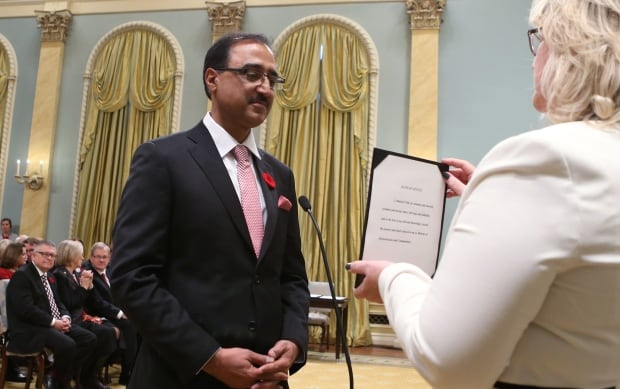 AB LIB MP Amarjeet Sohi Infrastructure and Communities minister