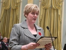 'I am the exception to the rule. I am not the rule,' says disability minister Carla Qualtrough on being a successful person with a disability.