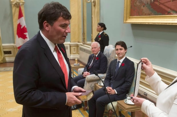 Lib MP Dominic LeBlanc Leader of the Government in the House of Commons