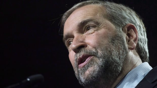 Federal NDP Leader Tom Mulcair told the B.C. provincial NDP convention in Vancouver on Sunday that his party will push for proportional representation in choosing MPs, among other things, when Parliament resumes.