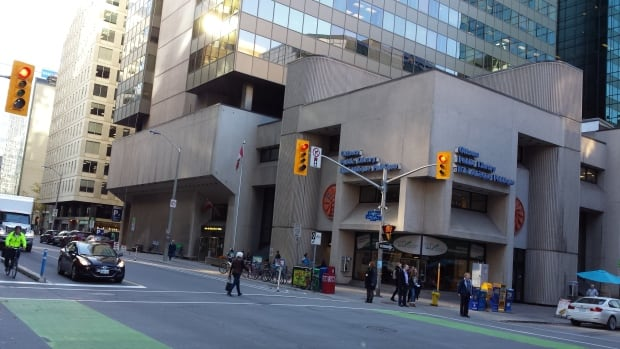 "The Ottawa Public Library's current central branch in downtown Ottawa. The chair of its board announced Tues. Jan. 12, 2016 they are working on a ""partnership opportunity"" with Library and Archives Canada for a new central branch."