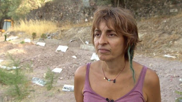Lena Altinoglou helps arrange burials for refugees who die as they approach Lesbos.