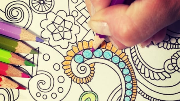 Colouring books for adults are growing in popularity, topping Amazon's bestseller and most-wished for lists in Canada.