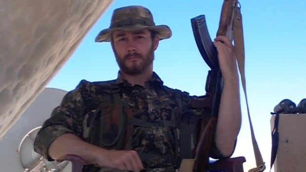 John Robert Gallagher, seen here in a photo shared on his Facebook page, was reportedly killed while fighting against ISIS in Syria.