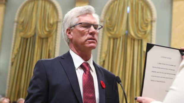 Natural Resources Minister and Winnipeg MP Jim Carr acknowledges there's