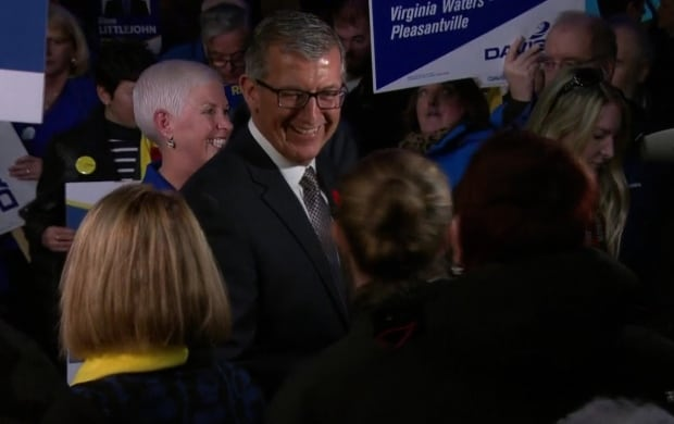 PC Leader Paul Davis at launch