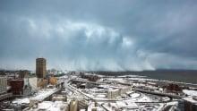 Extreme Wx events Lake Erie Buffalo blizzard Nov 18 2014