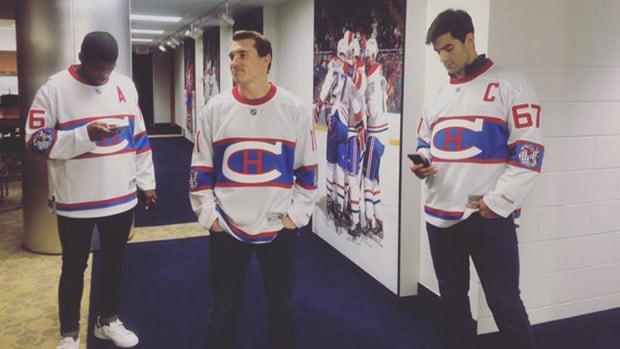 0f6154343f5 Canadiens unveil Winter Classic jersey