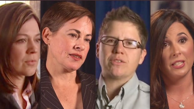 Susan Gastaldo, Catherine Galliford, Alice Fox and Atoya Montague joined forces to ask Prime Minister Trudeau for help in RCMP harassment cases.