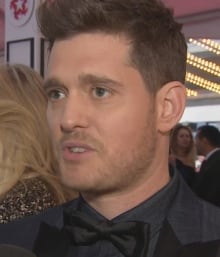 michael buble walk of fame