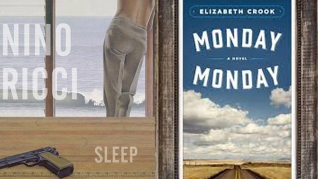 Sleep by Nino Ricci (left) and Monday, Monday by Elizabeth Crook (right).