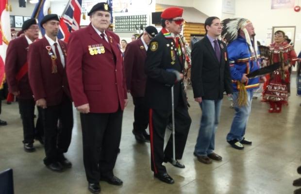 Blackwolf and other Aboriginal Veterans