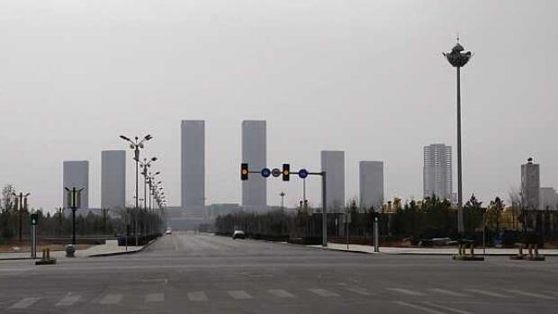 ordos kangbashi china s ghost city.