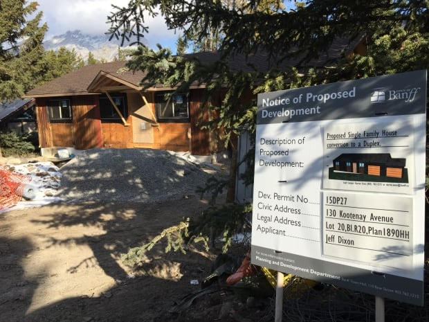 bow valley housing banff densification