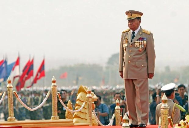 MYANMAR-PRESIDENT junta
