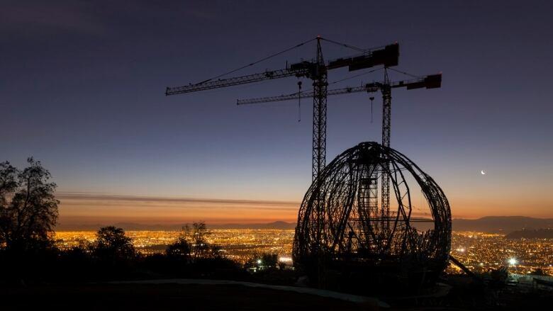 Bahá'í Temple of South America  - Construction