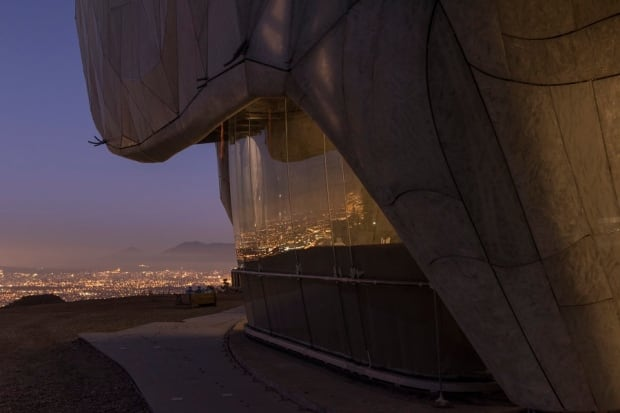 Bahá'í Temple of South America - side view