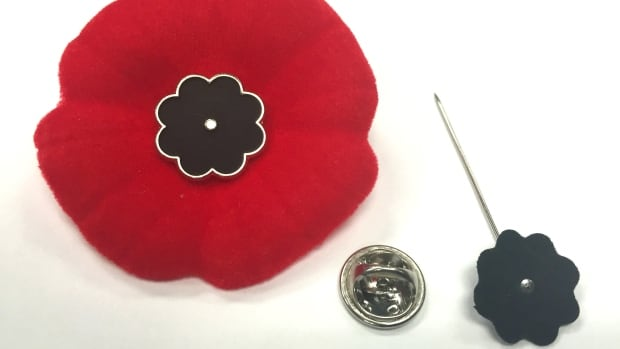 To keep the Royal Canadian Legion's Remembrance Day symbol secure to your jacket, a Calgary man has designed a lapel-style poppy pin centre to replace the traditional straight pin.