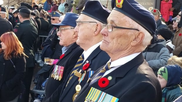 Thousands of Islanders usually attend the annual Nov. 11 Remembrance Day ceremony in Charlottetown.