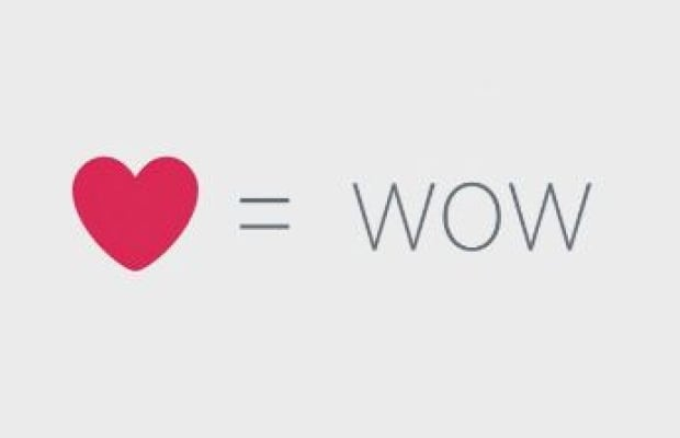 Heart = Wow
