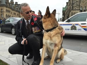 Rob Martin PTSD Ottawa Remembrance Day veteran Nov 11 2015