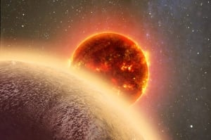 Sizzling Planet
