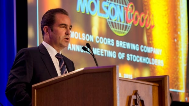 Molson Coors chair Geoff Molson is shown at its annual general meeting. The Montreal company just got much bigger.