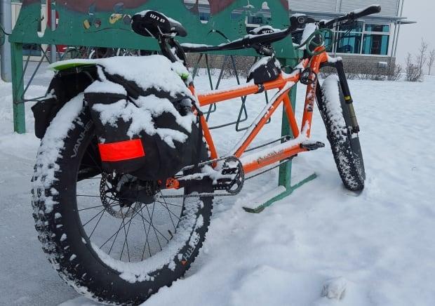 Winter bike whitehorse