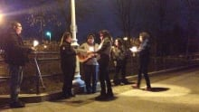 Jethro Anderson vigil