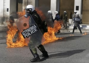 Greece Bailout Strike