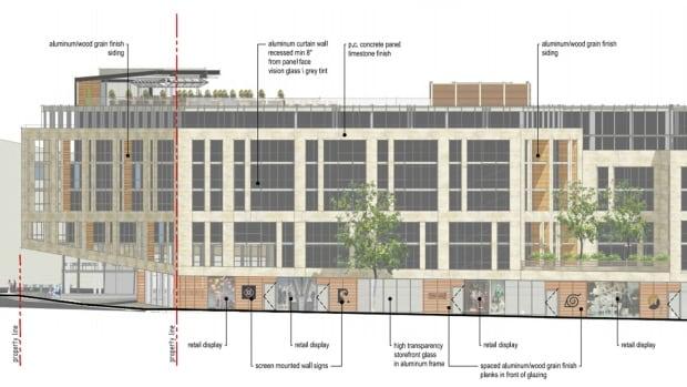 Demolition for spring garden hotel retail shops could be for Design hotel road