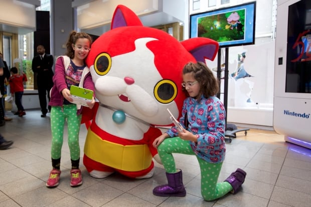 YO-KAI WATCH launch event at Nintendo World