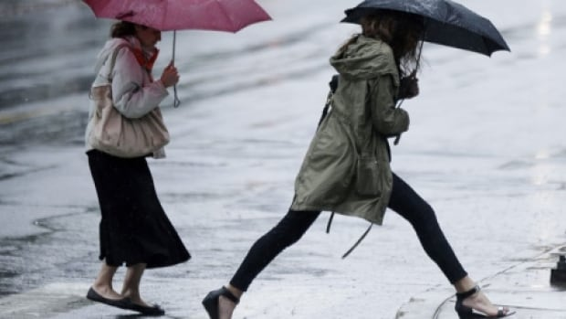 Wet, warm Thursday but high wind will make it feel chilly   CBC News