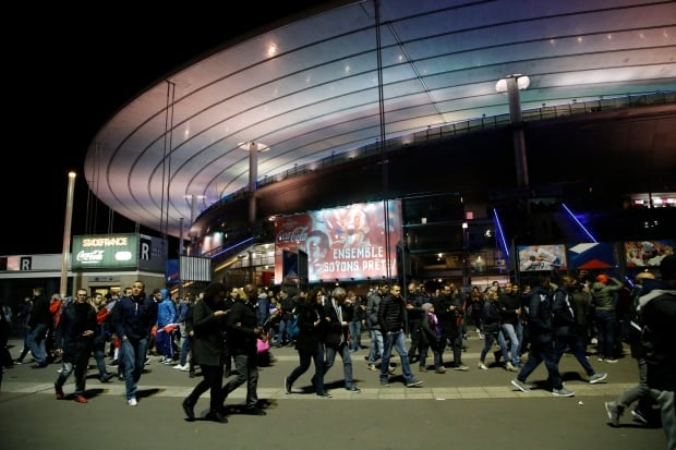 France Paris Shootings Stade de France Nov 13 2015