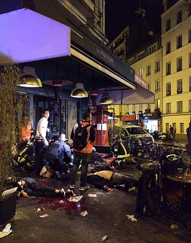 France Paris Shootings