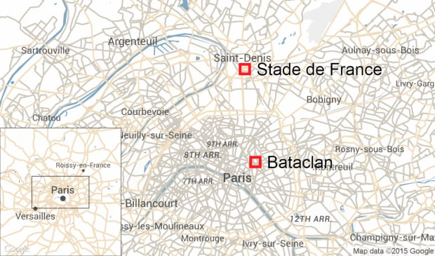 Bataclan Concert Hall Paris Map.Paris Attacks Witnesses Describe Scenes Of Carnage And Chaos