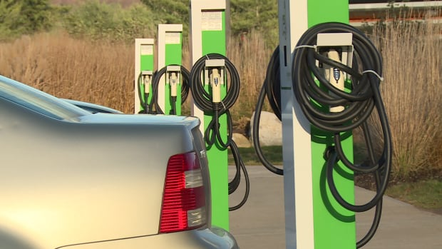 Bill Bennett says B.C. has the largest network of charging stations in Canada.