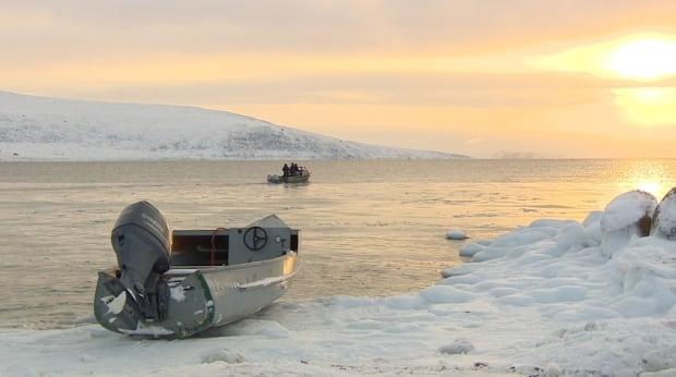 Hunters in Clyde River Nunavut