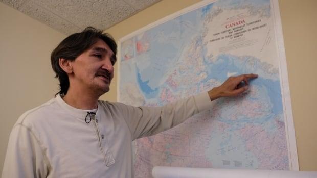 Jerry Natanine Mayor Clyde River Nunavut seismic testing
