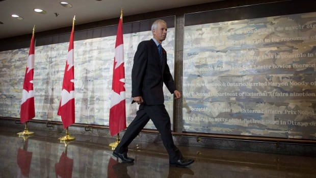 Canadian Foreign Affairs Minister Sté​phane Dion, shown following a cabinet meeting in Ottawa on Nov. 6. The Liberal minister is at the APEC summit in Manila, and spoke about the upcoming climate change conference in Paris.