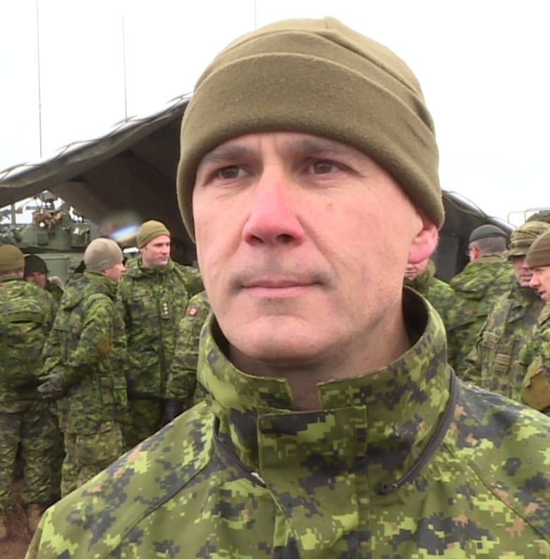 f937a2440 Craig Aitchison, commander of the Combat Training Centre, said soldiers  have to prepare for security operations.