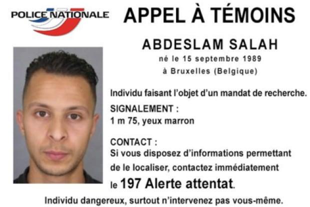 Salah Abdeslam-police photo